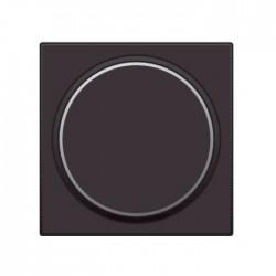 Niko  Manette avec anneau translucide pour bouton poussoir 6A, brun 124-64006