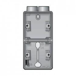 Niko  New Hydro boîtier en saillie vertical pour 2 fonctions avec 1x2 entrées M20 700-84202