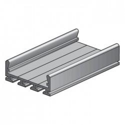 Niko  Profil en aluminium large plat 340-12006