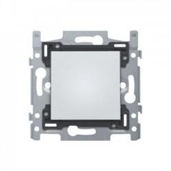 Niko  Socle éclairage d'orientation avec LED's bleu 270LUX, pour fixation à vis 170-38101