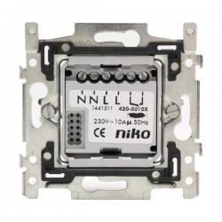 Niko  Socle pour détecteur de mouvement, contact 10A, 230V 420-00100