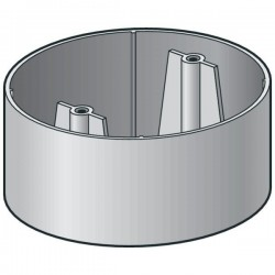 Niko Boîte de montage pour le détecteur de présence 360°, à encastrer dans un plafond 390-20056
