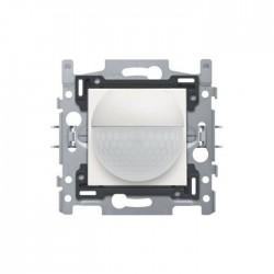Niko Détecteur de mouvement intérieur 180° avec contact de commutation 10 A 230 V 8 m acier blanc 154-78010