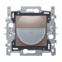 Niko Détecteur de mouvement intérieur 180° avec contact de commutation 10 A 230 V 8 m greige 104-78010