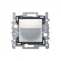 Niko Détecteur de mouvement intérieur 180° avec contact de commutation 10 A 230 V 8 m, blanc 101-78010