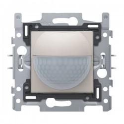 Niko Détecteur de mouvement intérieur 180° avec contact de commutation 10 A 230 V 8 m, gris clair 102-78010