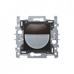 Niko Détecteur de mouvement intérieur 180° avec contact de commutation 10 A, 230 V, 8 m, brun foncé 124-78010