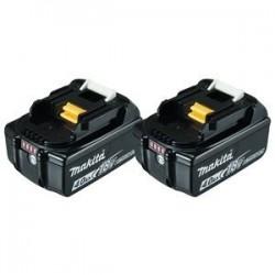 Makita Pack 2 batteries 18V...