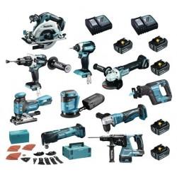 Makita 10 machines + 5...