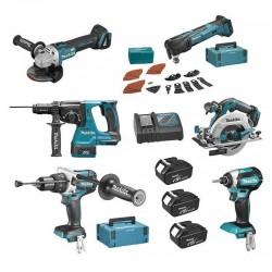 Makita 6 machines + 3...