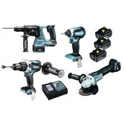 Makita Kit 4 machines + 3...