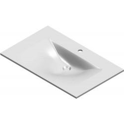 Lavabo Bizzy 80x50cm marbre...
