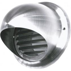 Grille d'aération inox 125mm