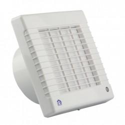 Renson Ventilateur mécanique 7221 100mm en blanc - obturable  (temporisateur) DIY
