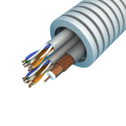 Cable flexible CPR COAX...
